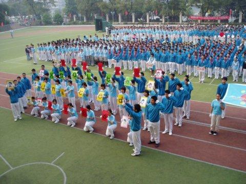 宝贤中学第五届校园文化体育艺术节隆重开幕图片