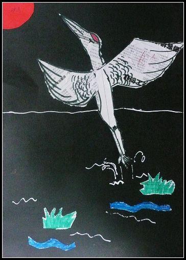 [图文]七年级上学期美术手撕纸贴画作品欣赏图片