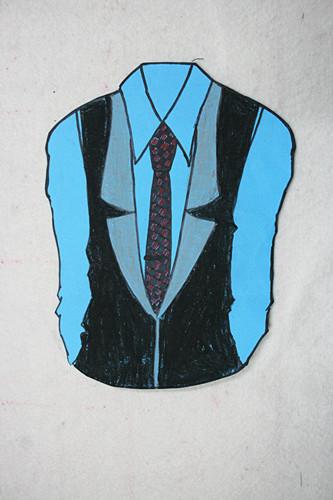年初一年级学生创意服装设计作品展示