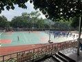 趣味运动展风采 激情四溢满校园 宝贤中学初一年级举行迎面接力趣味比赛